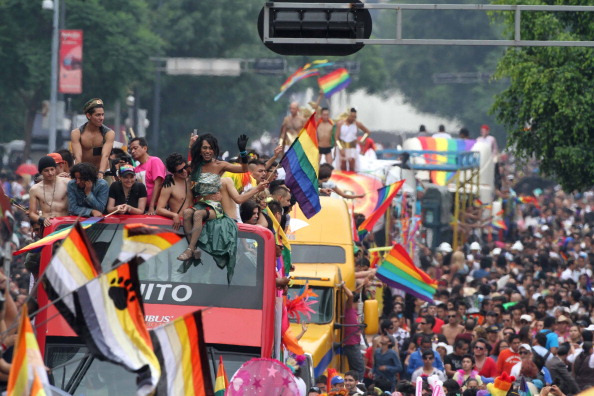 Gay Pride Parade in Mexico City